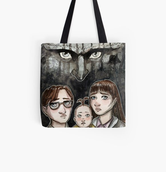Look Away... All Over Print Tote Bag