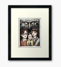 Look Away... Framed Print