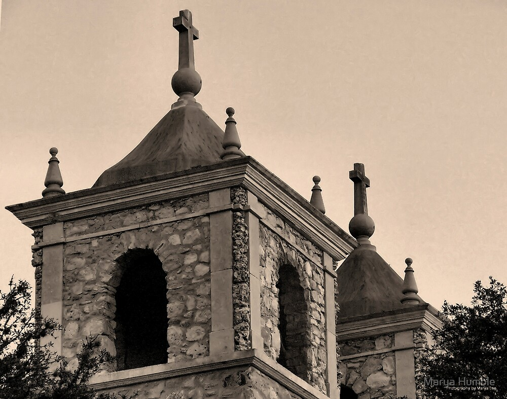 St. Peters, sepia by Marya Humble