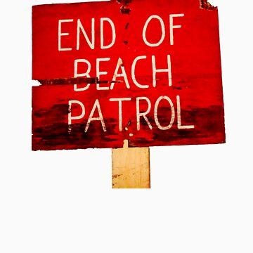 Beach sign by Vital
