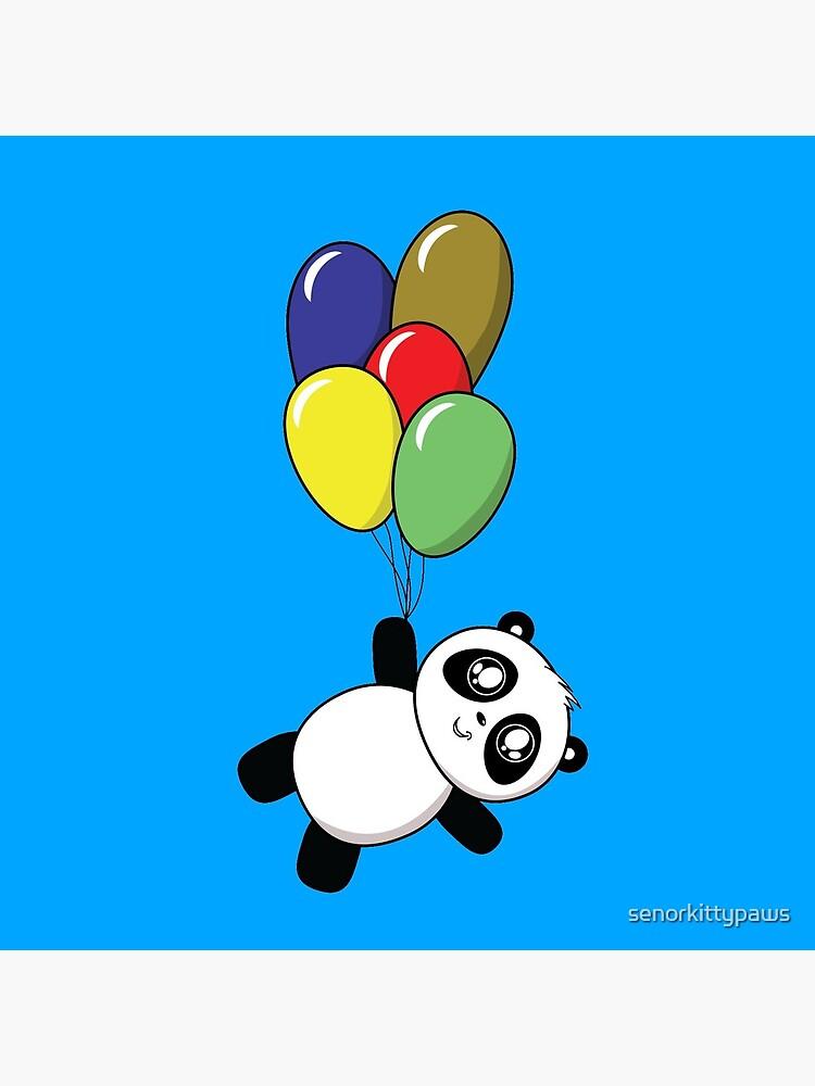Pandas! Ballons! von senorkittypaws