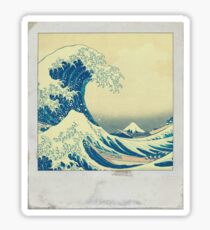 The Great Wave Polaroid Sticker