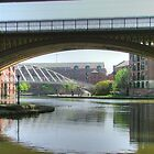 Underneath the arches.........Bridgewater Canal,  Manchester........! by Roy  Massicks