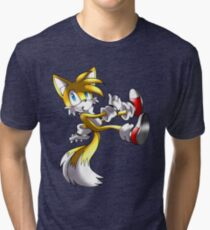 Tails The Fox Tri-blend T-Shirt