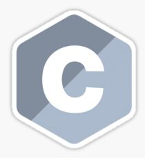C Programming Language Sticker