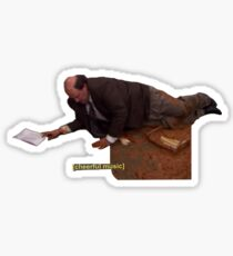 Kevin and his Chili - The Office Sticker