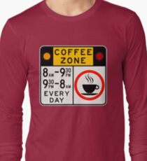 Coffee Zone Sign T-Shirt