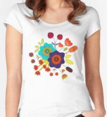 Magischer Nacht Garten Women's Fitted Scoop T-Shirt