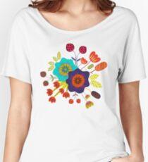 Magischer Nacht Garten Women's Relaxed Fit T-Shirt