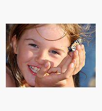 Precious Child ...Precious moment Photographic Print