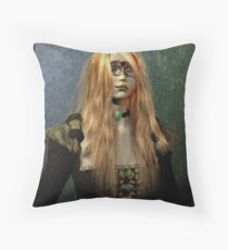 The Presence of Elegance Throw Pillow