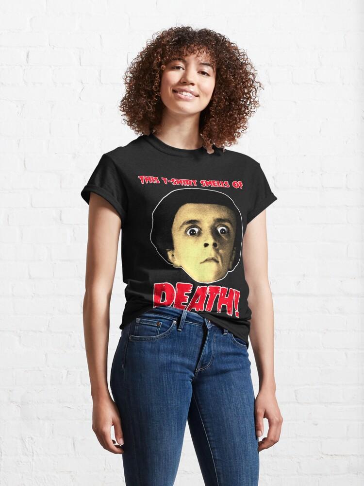 Alternative Ansicht von PETER BARK Dieses T-Shirt riecht nach Tod! Classic T-Shirt
