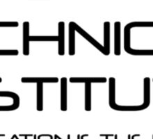 Cybertron Technical Institute Sticker
