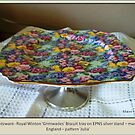1930's Chintzware - Royal Winton Biscuit Tray by Hedgie's Nature & Gardening Journal