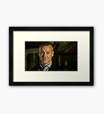 The Handsome DI Framed Print