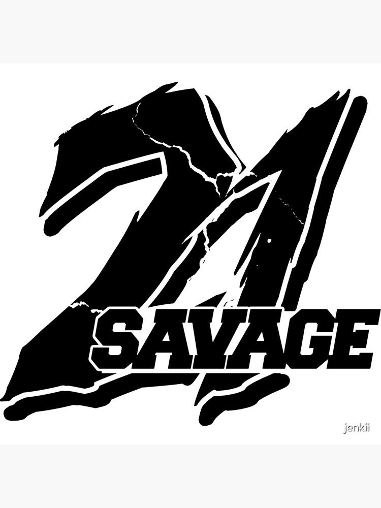 21 savage art board print by jenkii redbubble redbubble