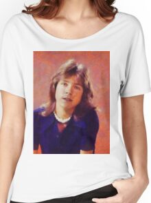 David Cassidy, Singer and Actor Women's Relaxed Fit T-Shirt