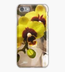 Beautiful Yellow Orchid at the Market iPhone Case/Skin