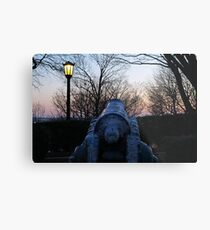 Tufts University Cannon Metal Print
