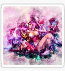 Arcade Miss Fortune Sticker