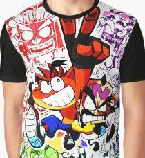 crash bandicoot Graphic T-Shirt