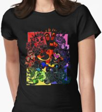 crash bandicoot Womens Fitted T-Shirt