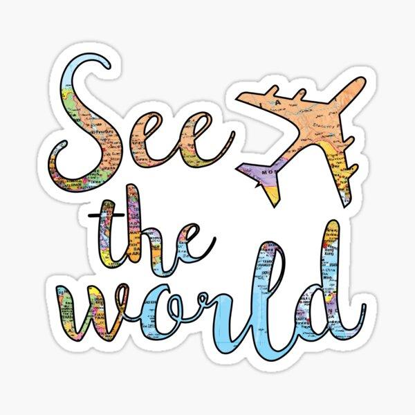 See the world Sticker