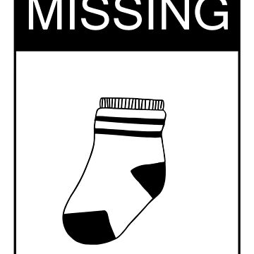 Missing: 1 Sock by KEssenpreis