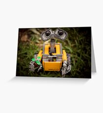 WallE Greeting Card