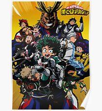 Boku no Hero Academia Poster 1 Poster