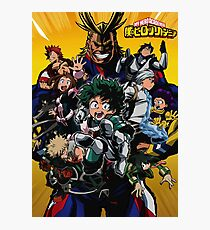 Boku no Hero Academia Poster 1 Photographic Print