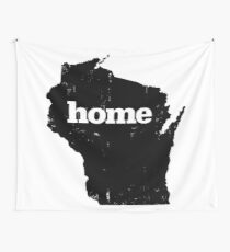 Wisconsin Home Wall Tapestry