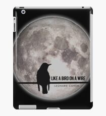 like a bird on wire  iPad Case/Skin