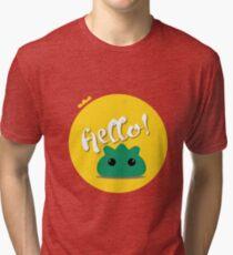 The Hello guy :) Tri-blend T-Shirt