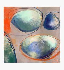 Orange stones Photographic Print