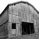 Barn in B&W by Jason Helton