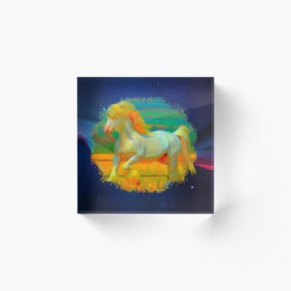Gentle Giant Horse Acrylic Block