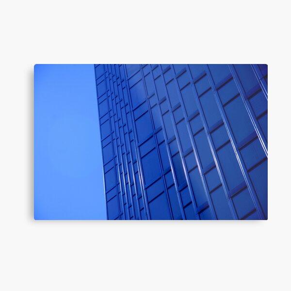 Bold Blue Office Metal Print