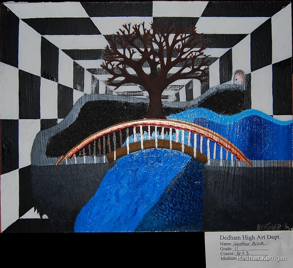 vortex of tree by Heather Brink