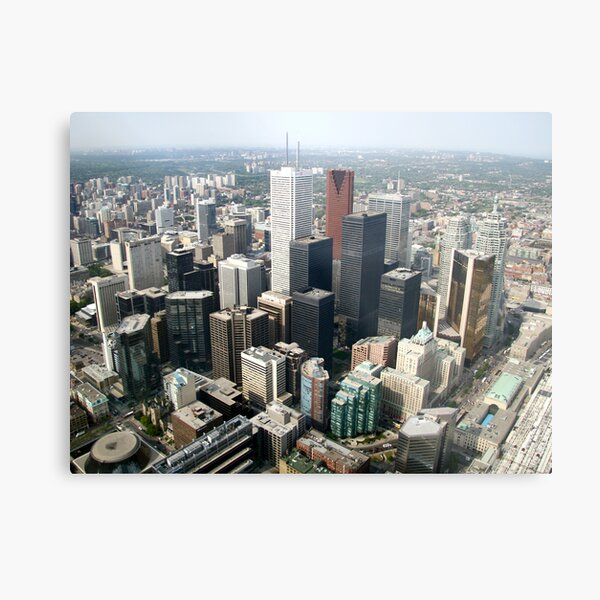 Toronto Downtown Metal Print