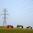 Diesel and Electric by Andris Batraks
