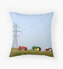 Diesel and Electric Throw Pillow