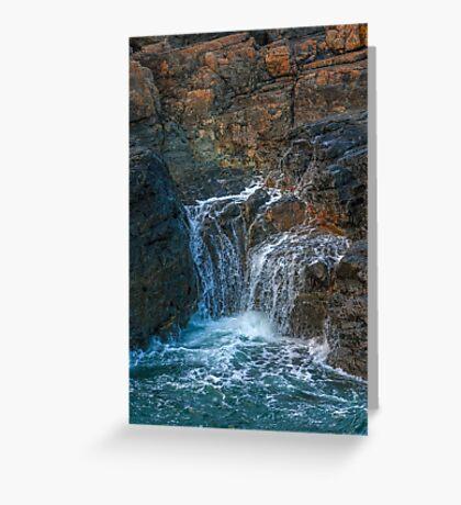 Sea Rocks Greeting Card