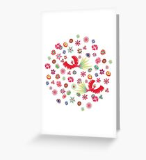 Boho Greeting Card