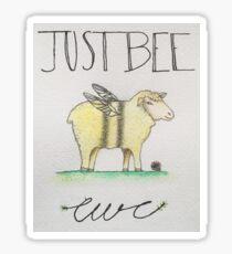 Just Bee Ewe Sticker