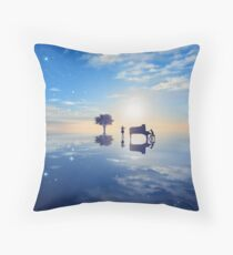Your lie in April Throw Pillow