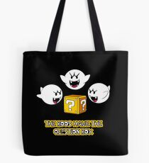 The Boos have the question box Tote Bag
