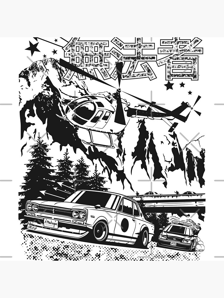 Skyline GT-R Hakosuka Outlaw by OlegMarkaryan