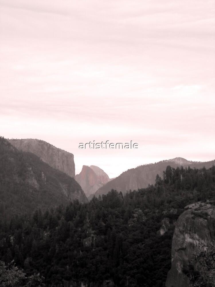 Yosemite's Half Dome  by artistfemale