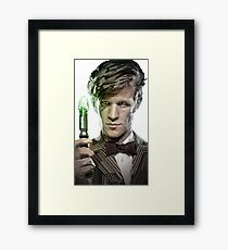11th Doctor - Doctor Who Framed Print